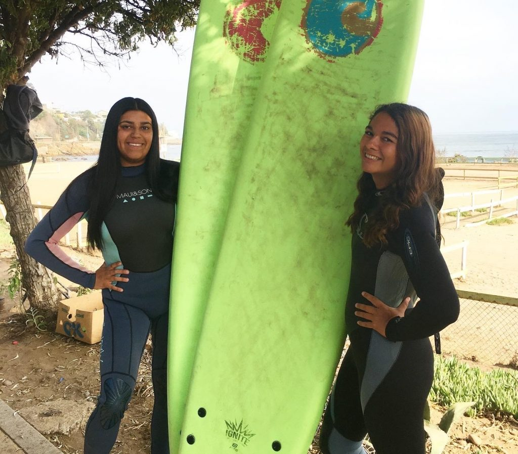 ESL teacher Brenda volunteered in Chile for the Valpo Surf Project before formally teaching English online