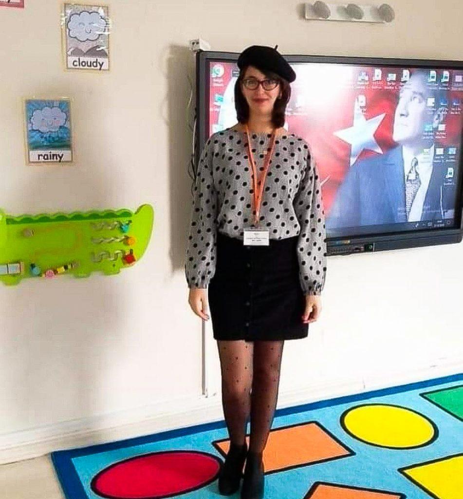 Asma Klai, from Tunisia, Teaching in Istanbul