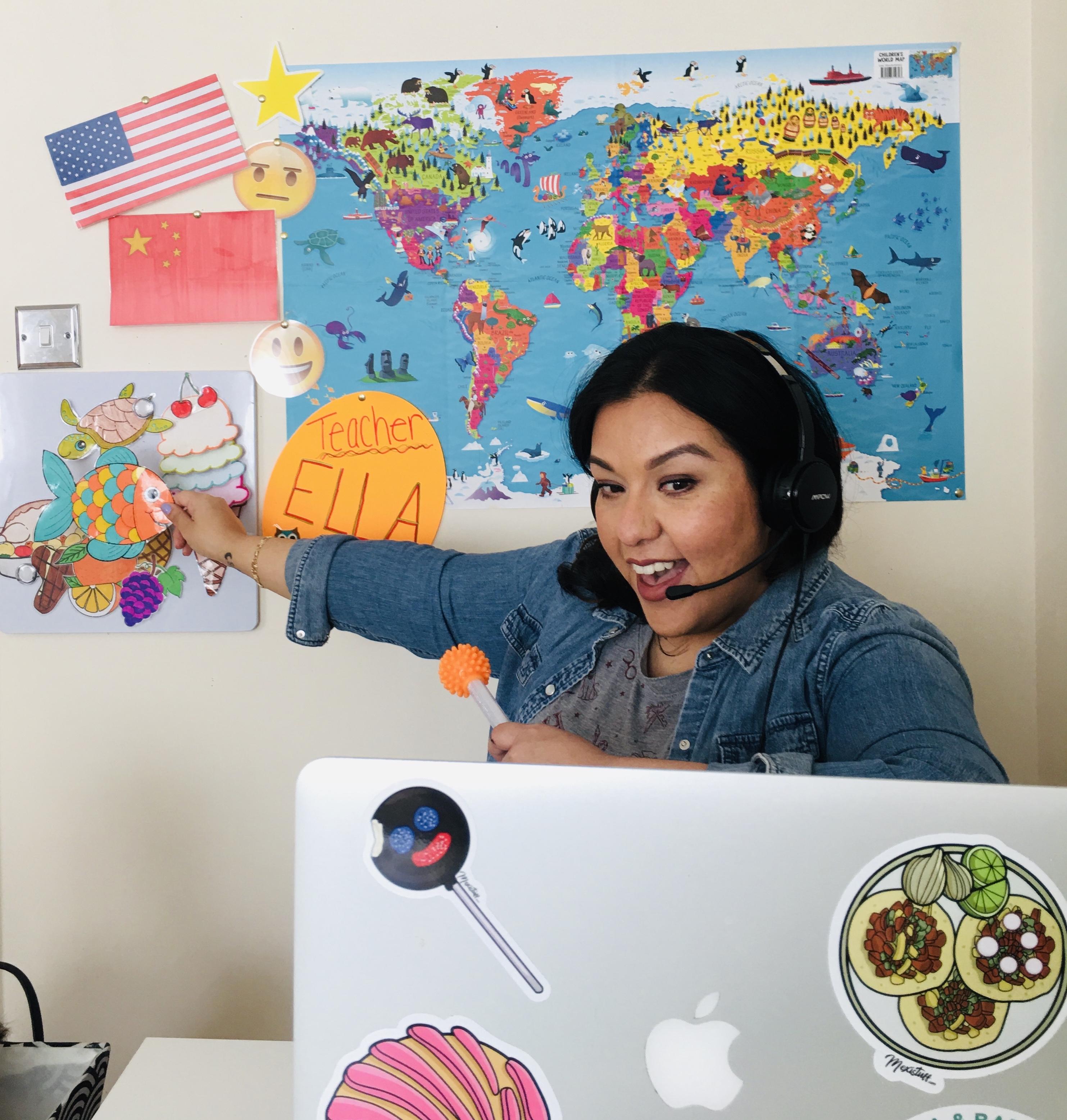 online English teacher Mari