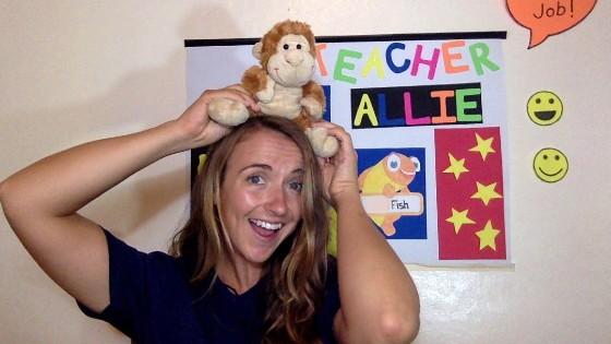 Allie, Teaching Online in Nicaragua