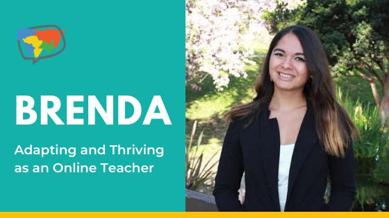 Brenda, English teacher in Chile