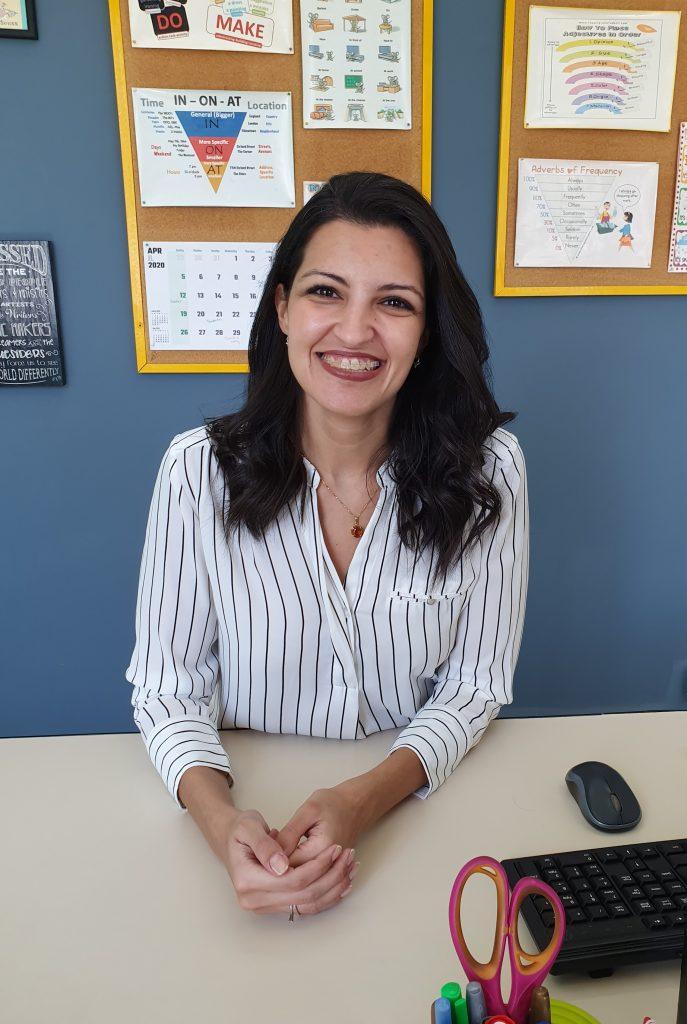 Carla, from Brazil, is an independent online ESL teacher