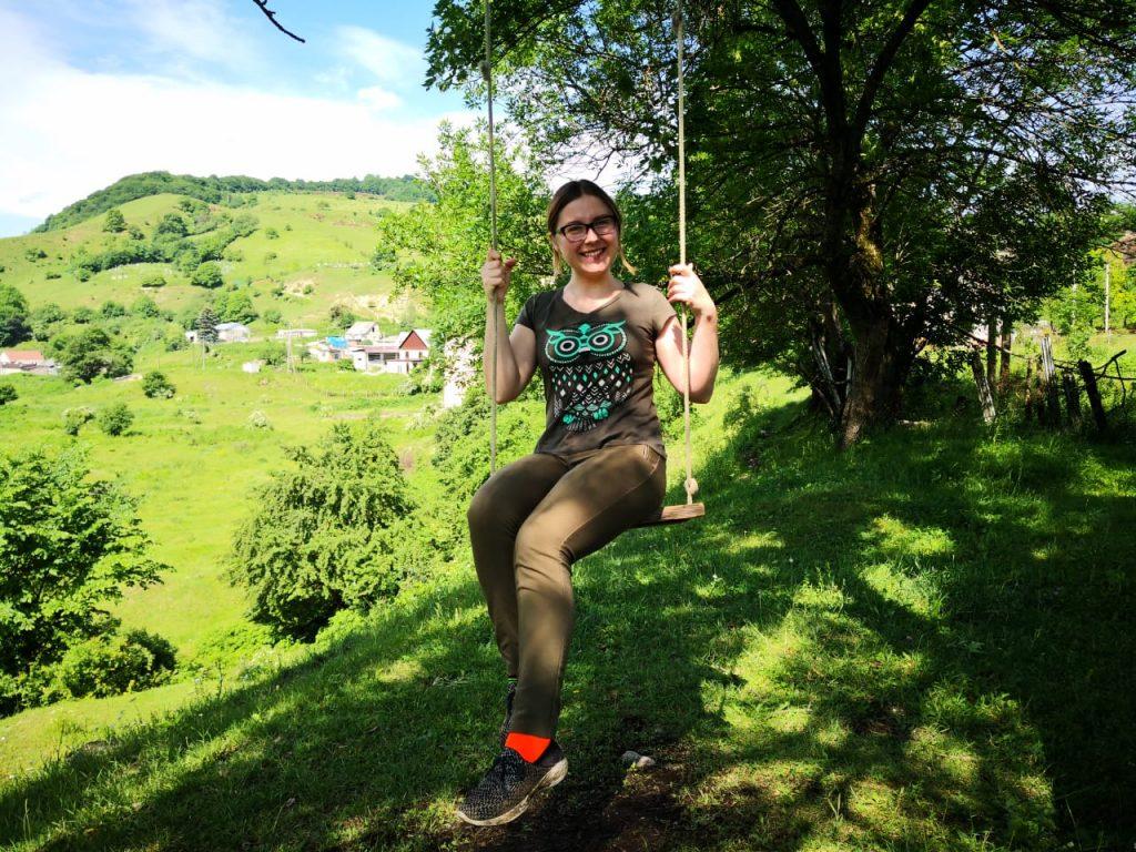Russia in her hometown Nalchik