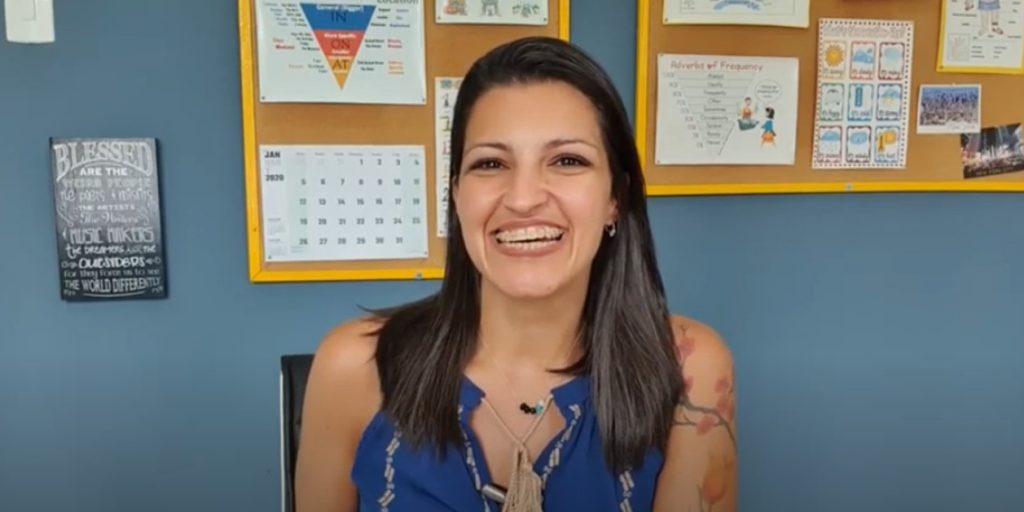Carla, a teacherpreneur from Brazil