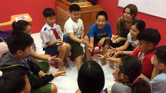 Anna, Teaching Kids English in Vietnam