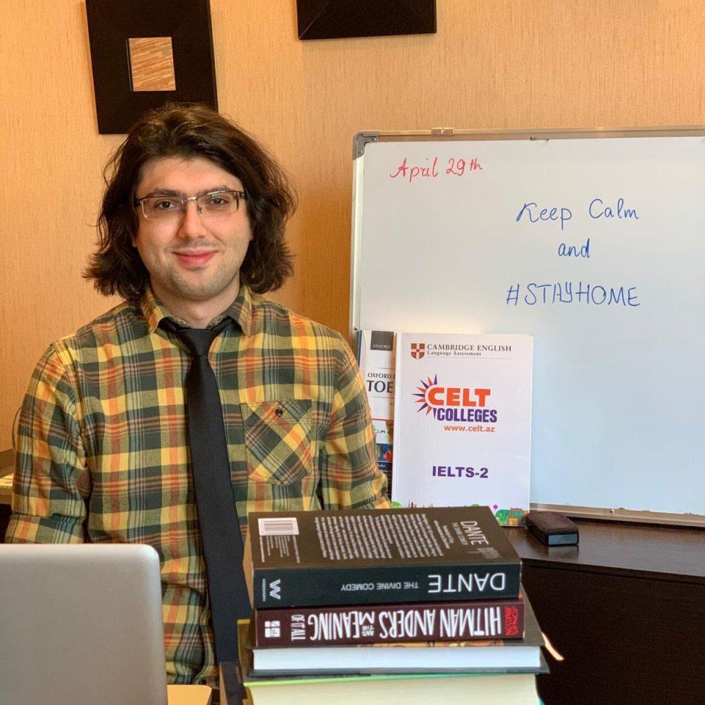 English test prep tutor