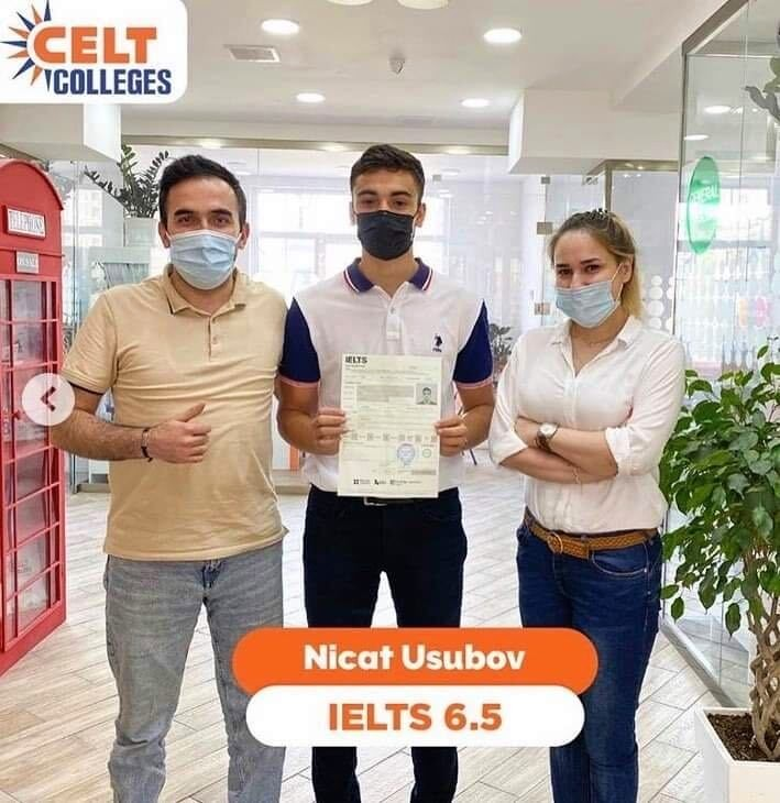 Nasim IELTS instructor