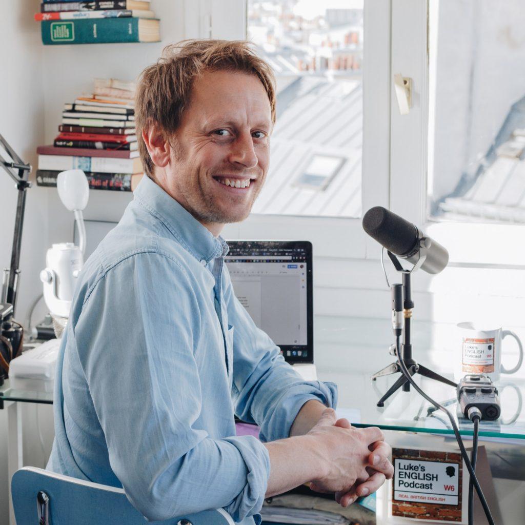 Luke, of Luke's English Podcasts