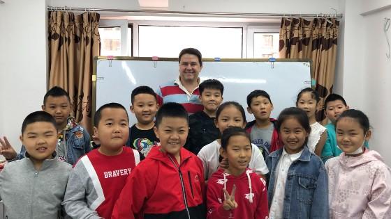 Mark Lee teaches and runs an EFL school in China.
