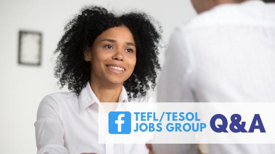 Bridge TEFL/TESOL Jobs Facebook Group Q&A