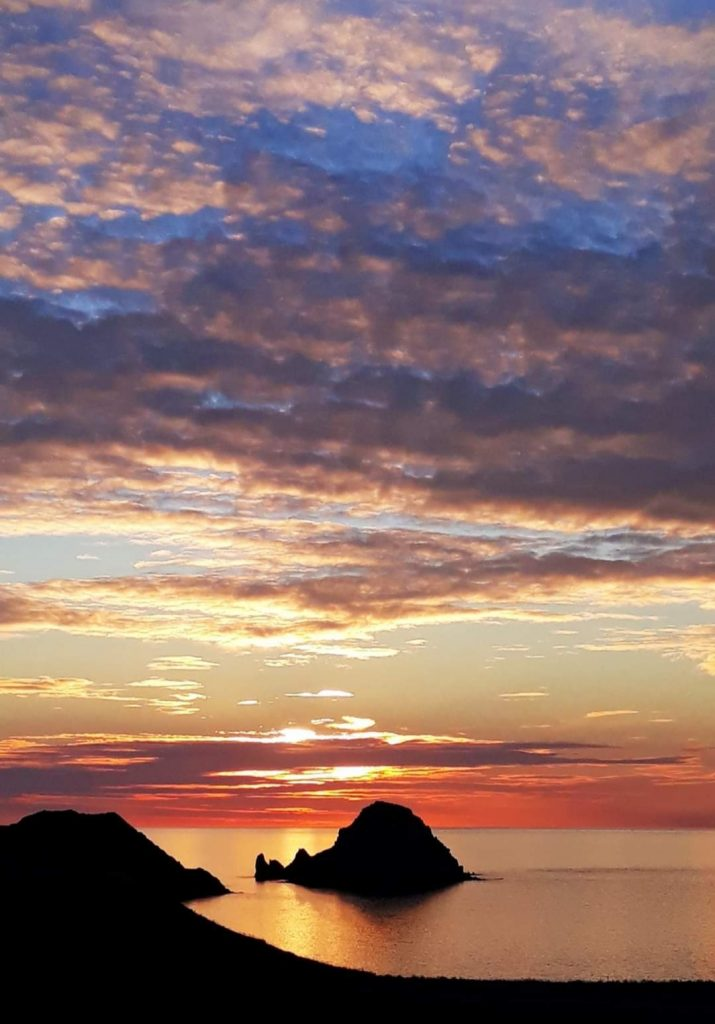 Sunset in Lemnos, Greece
