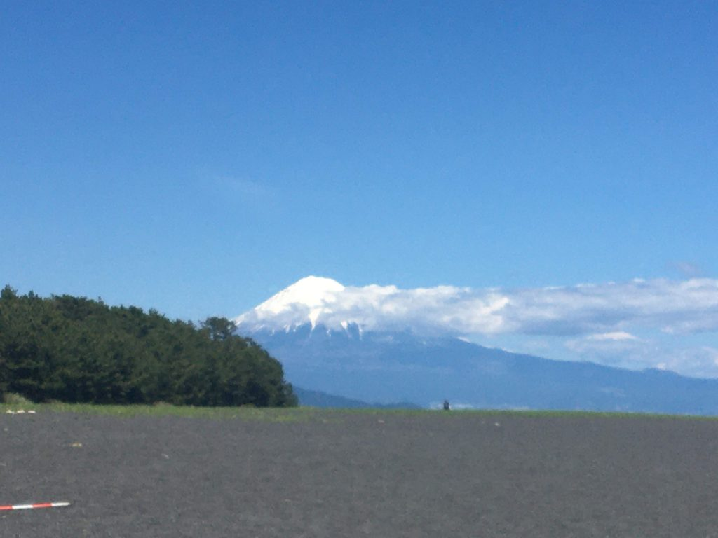 A view of Mt. Fuji from Shizuoka