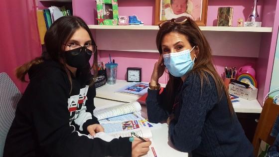 Sophia, a South African freelance English tutor in Greece