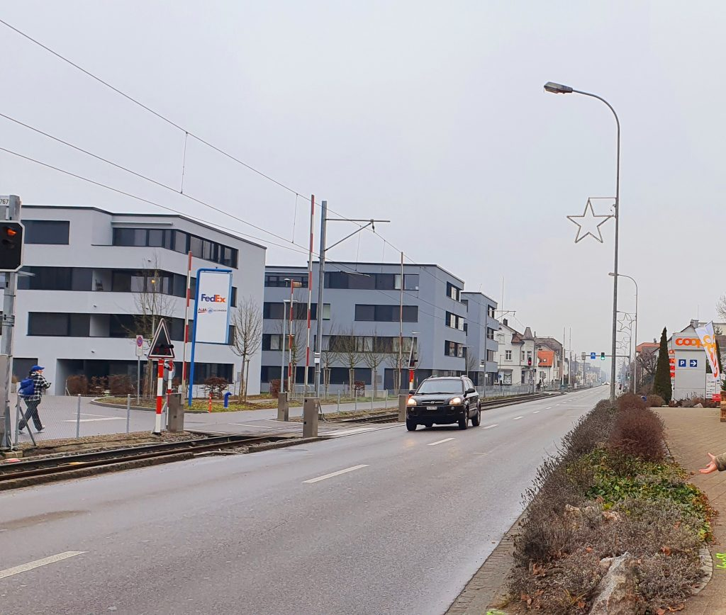 Office buildings in Switzerland