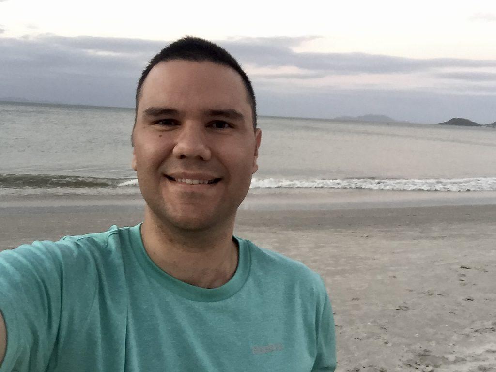Jonathan while traveling around Brazil.