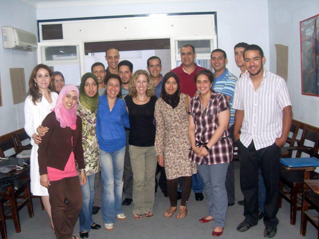 teacher in Morocco