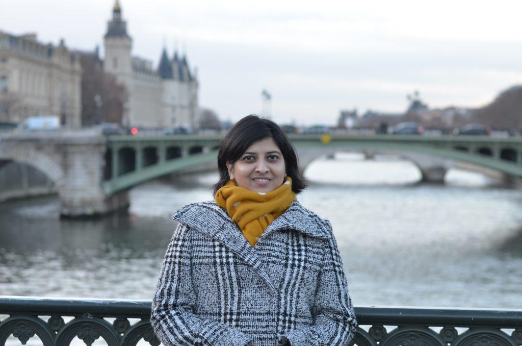 Suchismita in Paris, France