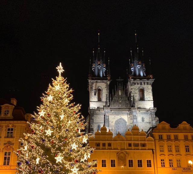 Prague at Christmas time