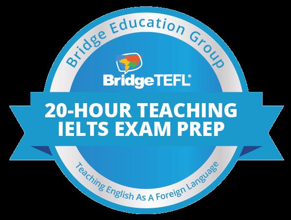 IELTS exam prep digital badge