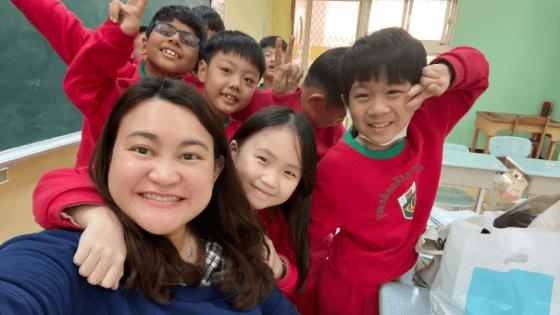 Shella Chua ESL teacher in Taiwan