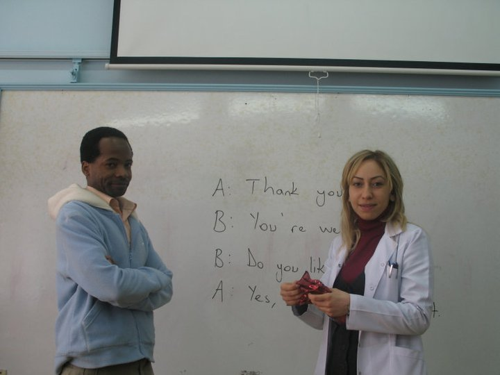 Prior to the pandemic, Hassan taught English to kids, teenagers, and adults in person.