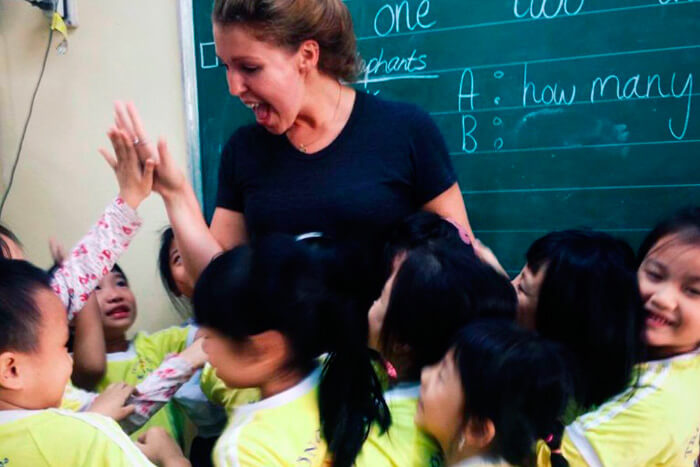 About Teaching English in Vietnam