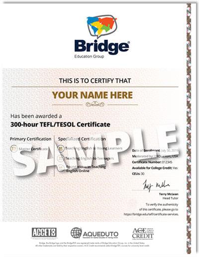 bridgetefl certificate services