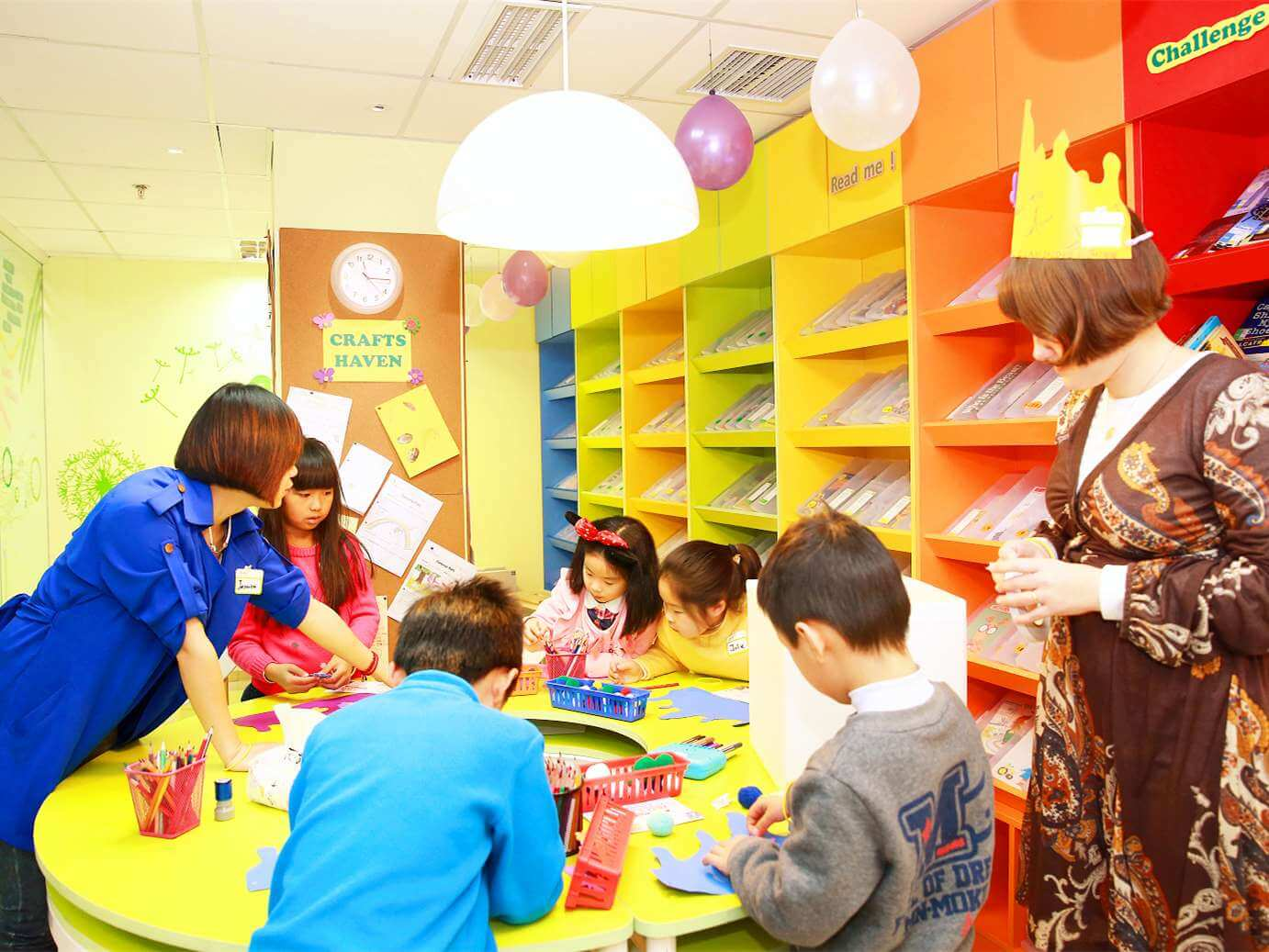 Activities in Elan Library Area