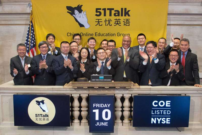 51Talk--the first online Chinese education company to go public on the New York Stock Exchange