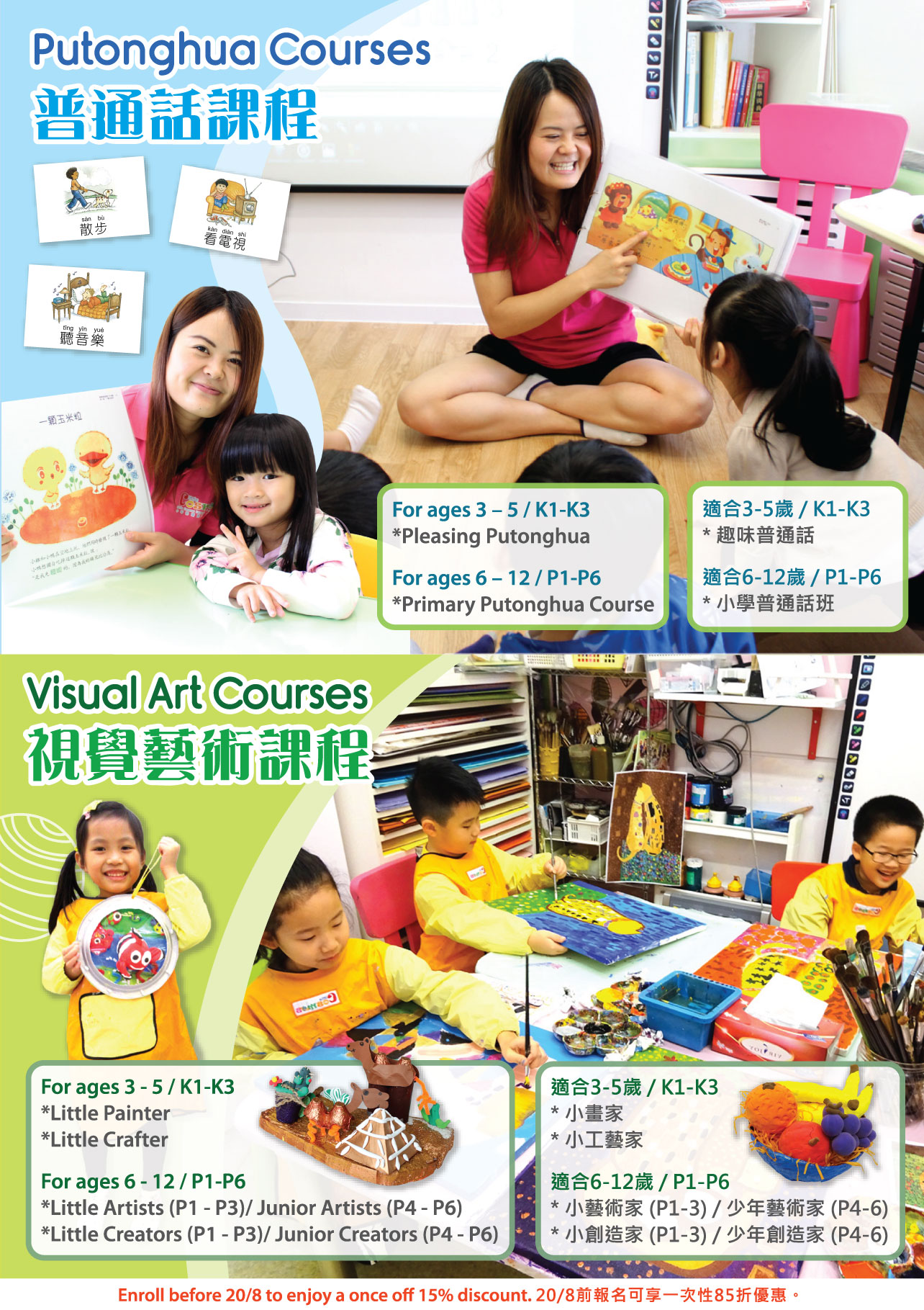 Course Information (PTH, Visual Art)