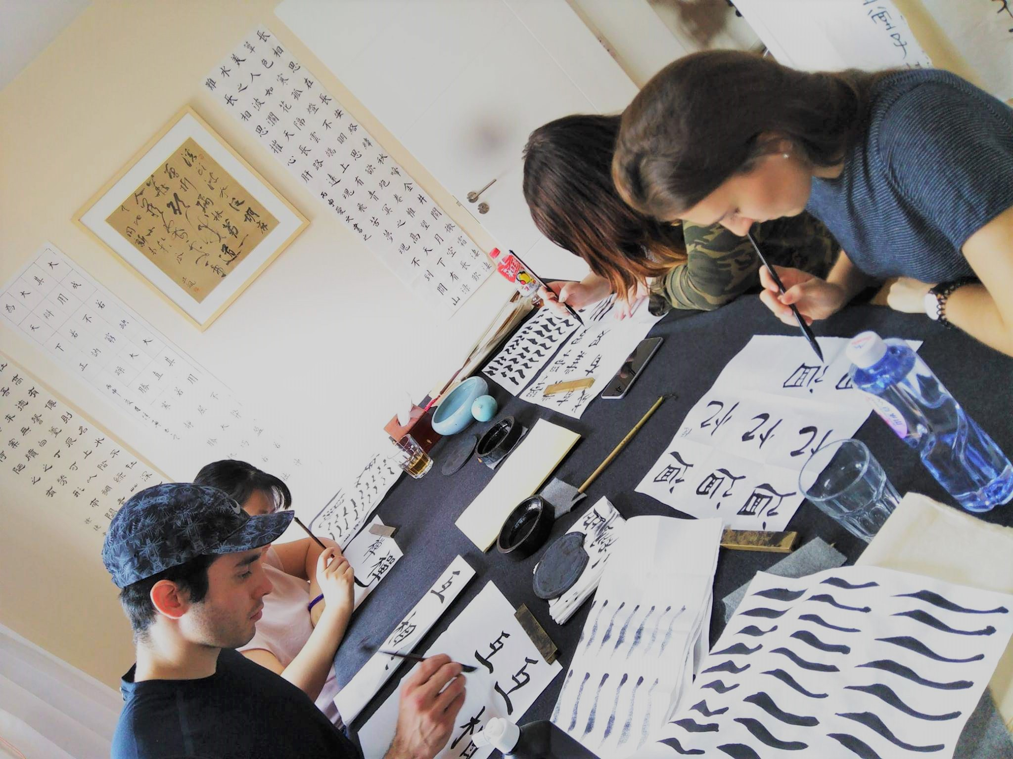 Culture Activity-Calligraphy