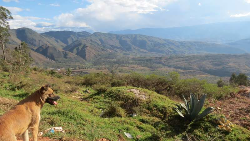 Chachapoyas countryside