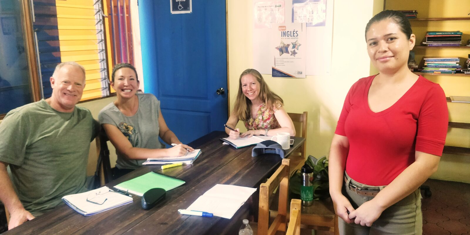 Spanish immersion classes for English teachers