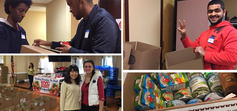 Bridge Students Give Back to the Community at Manhattanville College in New York