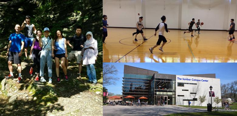 Student Life on the Campus of Jefferson (Philadelphia University + Thomas Jefferson University)